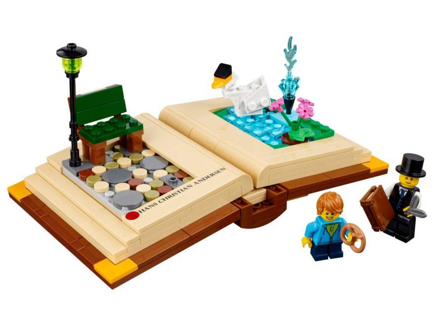 "LEGO® Kreative Persönlichkeiten 2018 ""Hans Christian Andersen"" (40291) - Bild 1 | ©LEGO Gruppe"