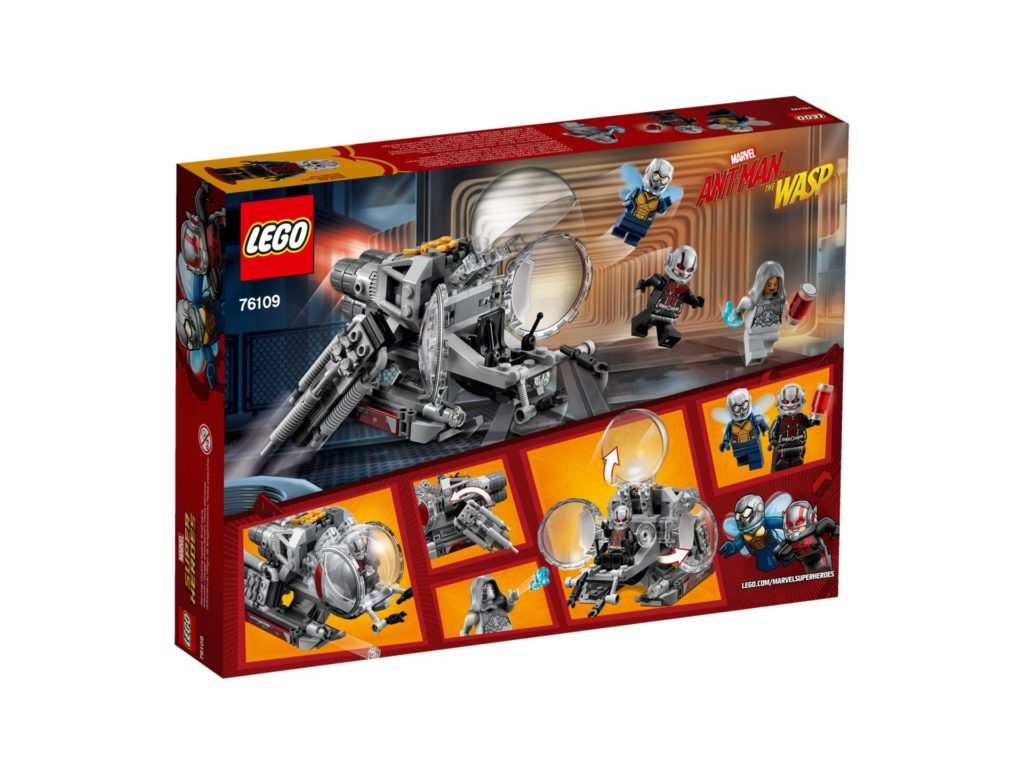 LEGO® Marvel Super Heroes Erforscher des Quantenreichs (76109) - Bild 2 | ©LEGO Gruppe