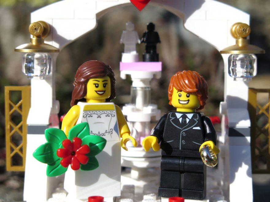LEGO® Minifiguren Hochzeits-Set 2018 (40197) - Titelbild | ©2018 Brickzeit