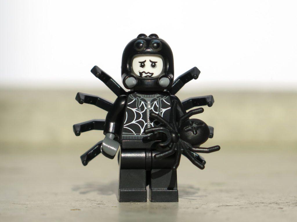 LEGO® Minifiguren Serie 18 (71021) - Spinnenmann | ©2018 Brickzeit