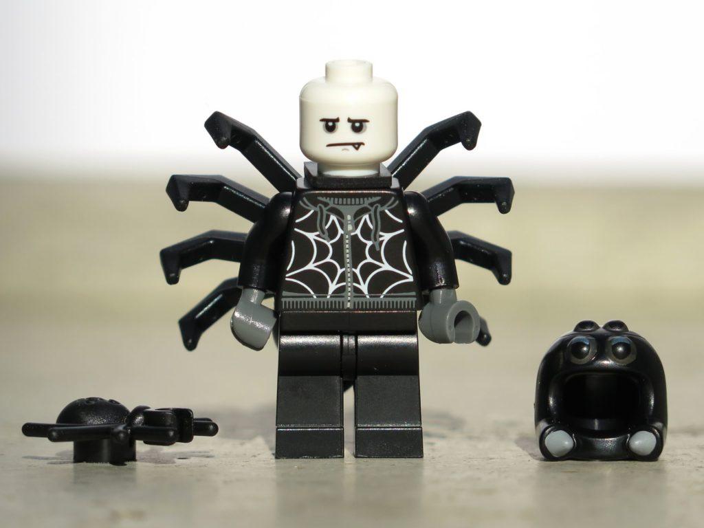 LEGO® Minifiguren Serie 18 (71021) - Spinnenmann, alternatives Gesicht und Zubehör | ©2018 Brickzeit