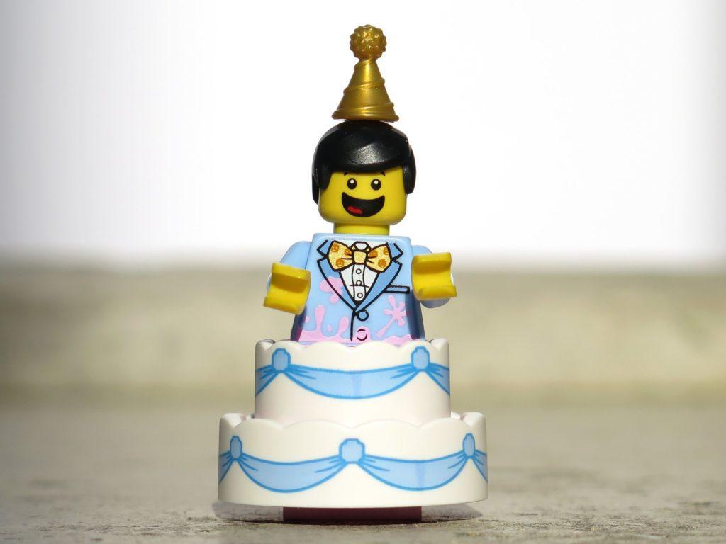 LEGO® Minifiguren Serie 18 (71021) - Tortenmann | ©2018 Brickzeit