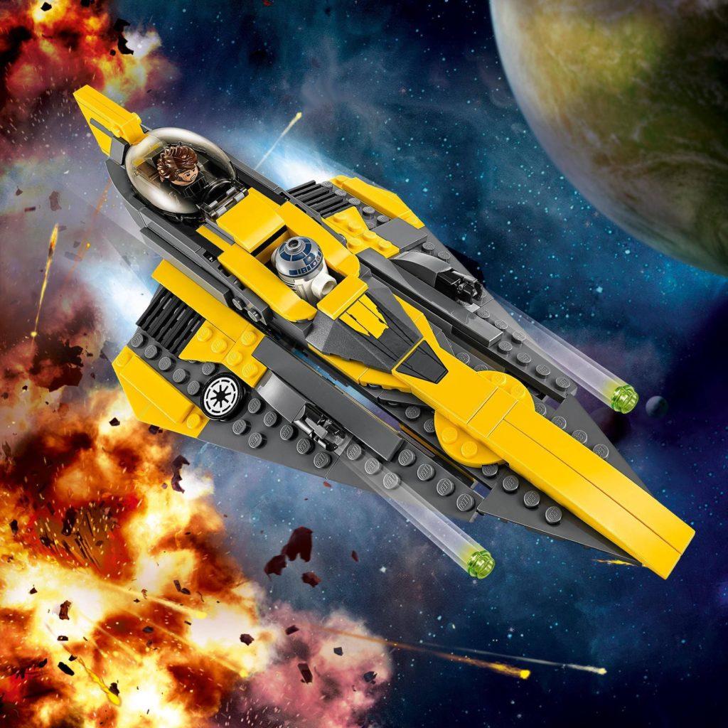 LEGO® Star Wars™ Anakin's Jedi Starfighter (75214) | ©LEGO Gruppe