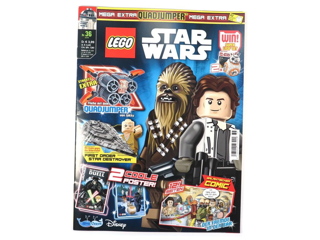 LEGO® Star Wars™ Magazin Nr. 36 - Cover 2 | ®2018 Brickzeit