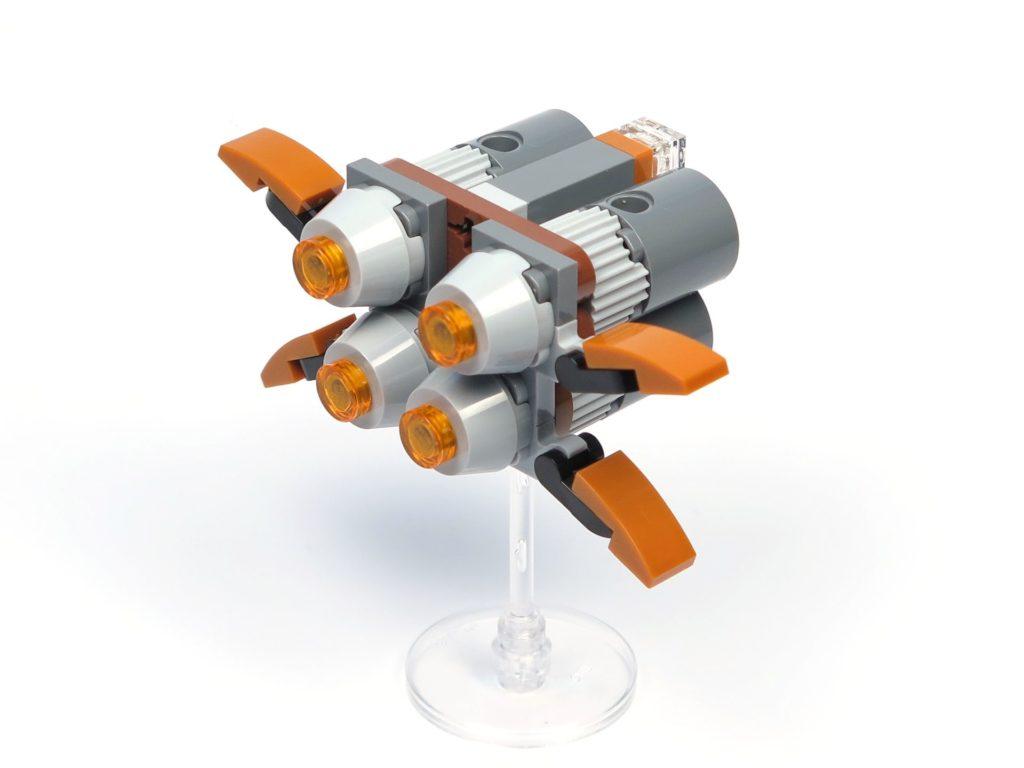 LEGO® Star Wars™ Magazin Nr. 36 - Quadjumper, rechts hinten | ®2018 Brickzeit