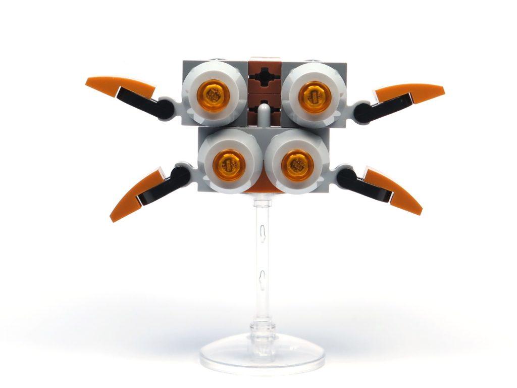 LEGO® Star Wars™ Magazin Nr. 36 - Quadjumper, Rückseite | ®2018 Brickzeit