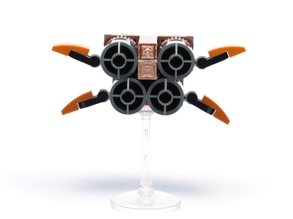 LEGO® Star Wars™ Magazin Nr. 36 - Quadjumper, vorne | ®2018 Brickzeit