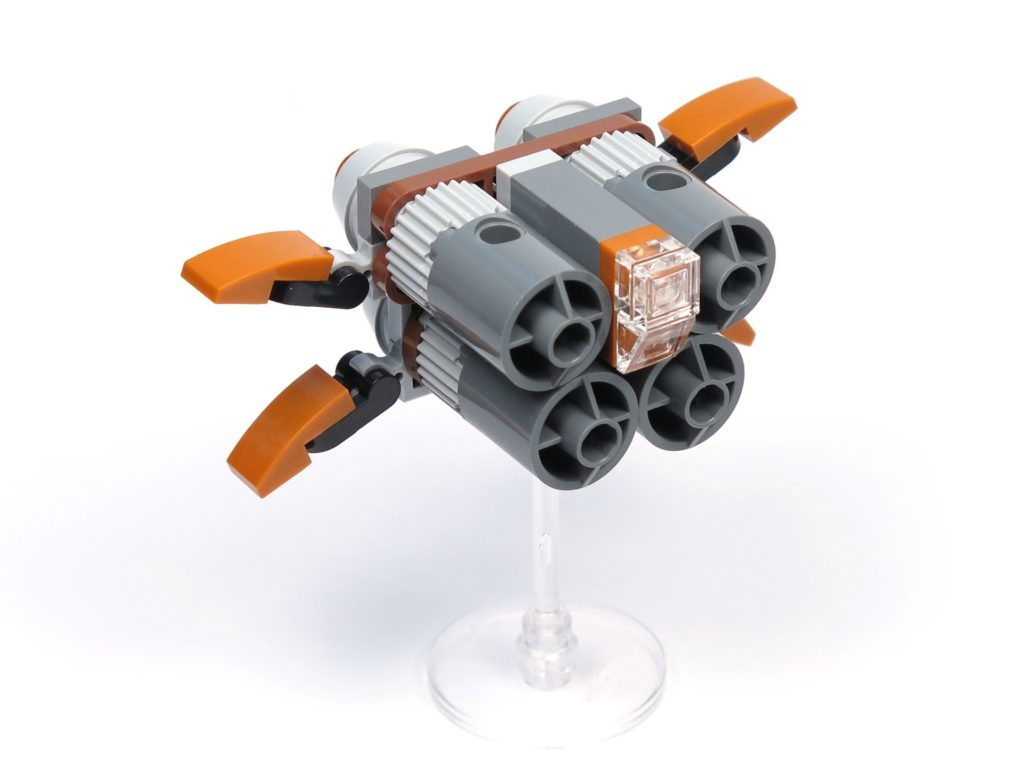 LEGO® Star Wars™ Magazin Nr. 36 - Quadjumper, vorne rechts | ®2018 Brickzeit