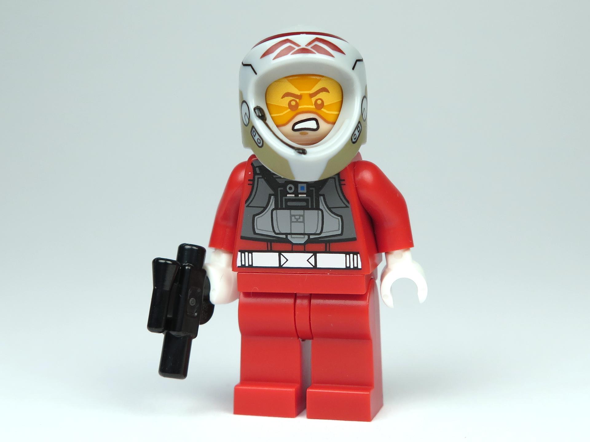 LEGO® Star Wars™ Polybag 5004088 - A-Wing Pilot - Perspektive, mit Helm | ©2018 Brickzeit