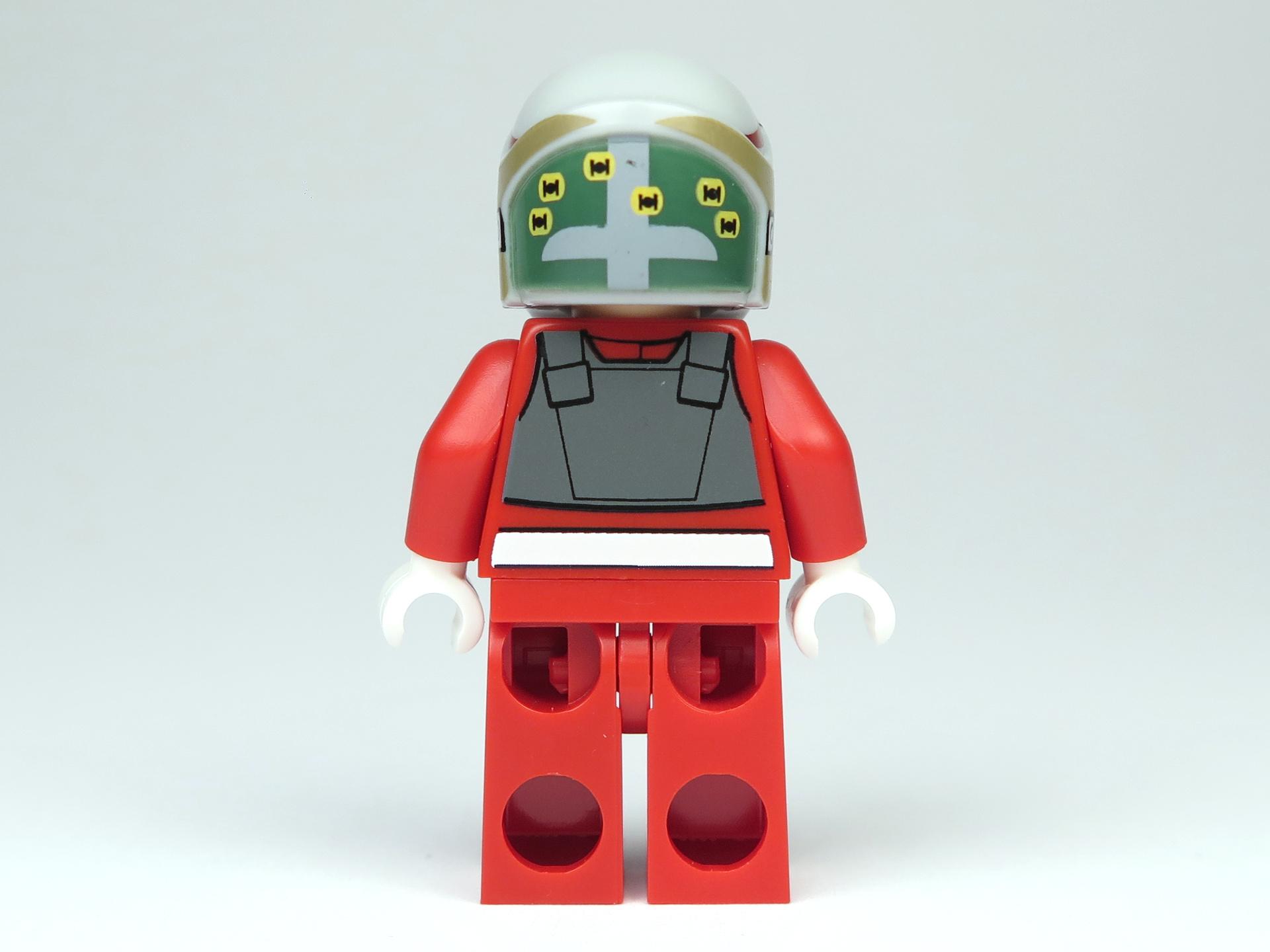 LEGO® Star Wars™ Polybag 5004088 - A-Wing Pilot - Rückseite, mit Helm | ©2018 Brickzeit