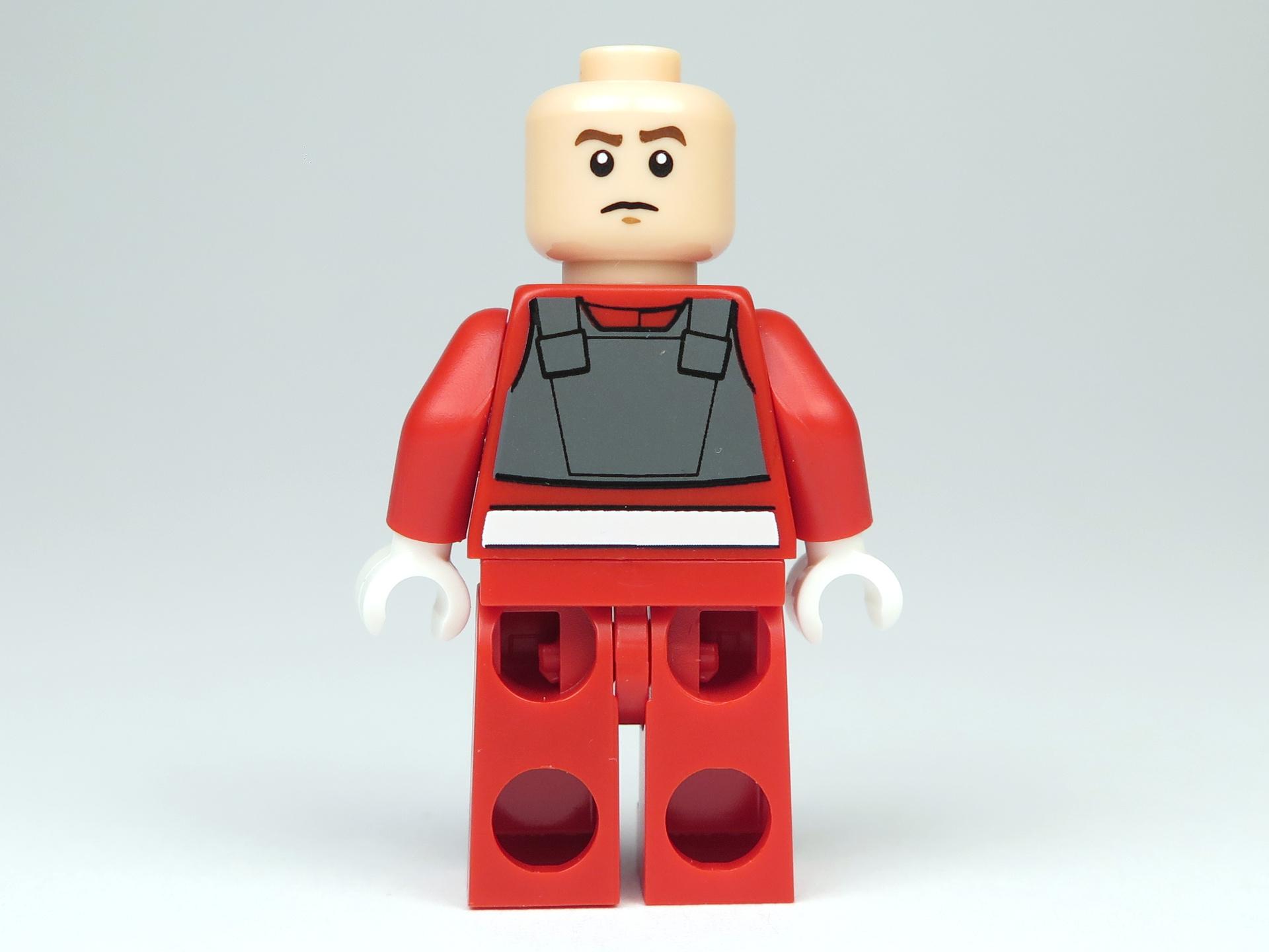 LEGO® Star Wars™ Polybag 5004088 - A-Wing Pilot - Rückseite, ohne Helm | ©2018 Brickzeit