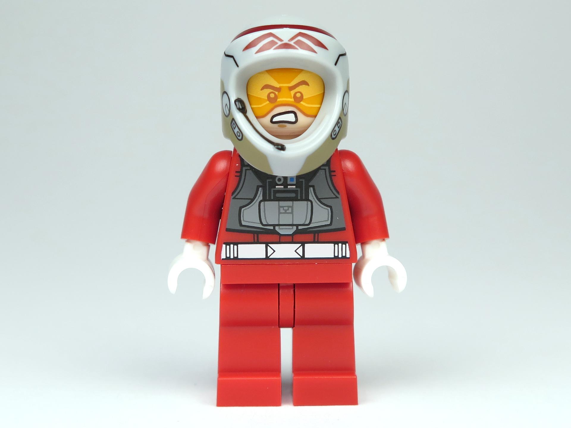 LEGO® Star Wars™ Polybag 5004088 - A-Wing Pilot - Vorderseite, mit Helm | ©2018 Brickzeit