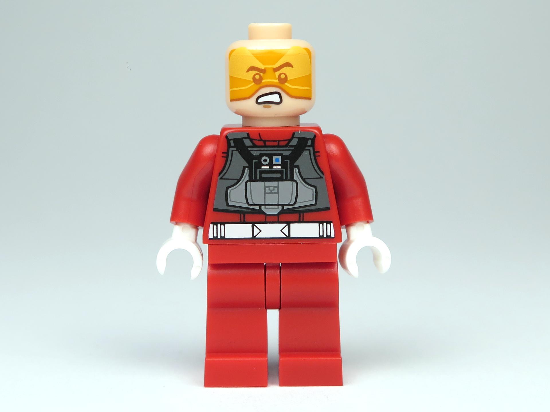 LEGO® Star Wars™ Polybag 5004088 - A-Wing Pilot - Vorderseite, ohne Helm | ©2018 Brickzeit