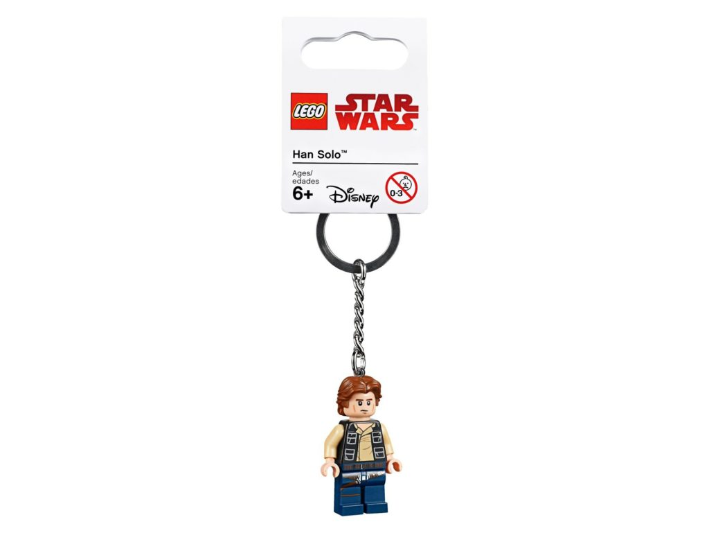 LEGO® Star Wars Han Solo Schlüsselanhänger (853769) | ©LEGO Gruppe