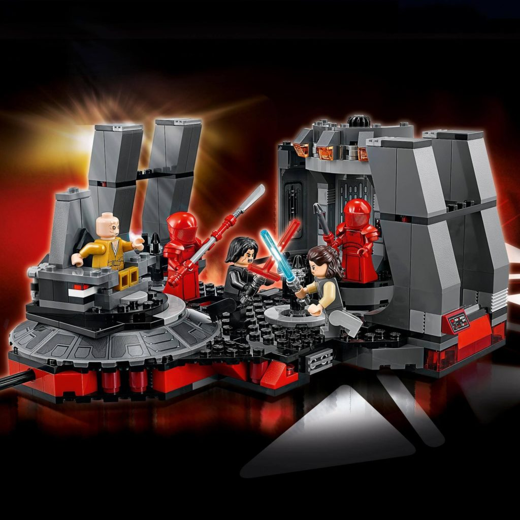 LEGO® Star Wars™ Snoke's Thronsaal (75216) | ©LEGO Gruppe