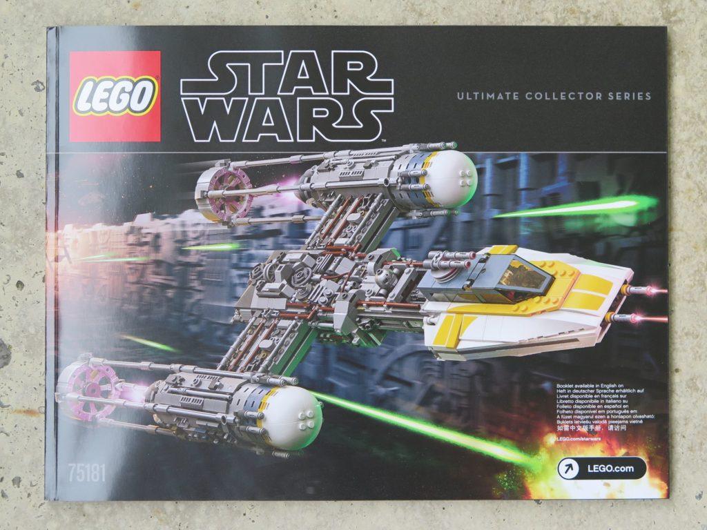 LEGO® Star Wars™ UCS Y-Wing Starfighter (75181) - Anleitung Seite 1 | ©2018 Brickzeit
