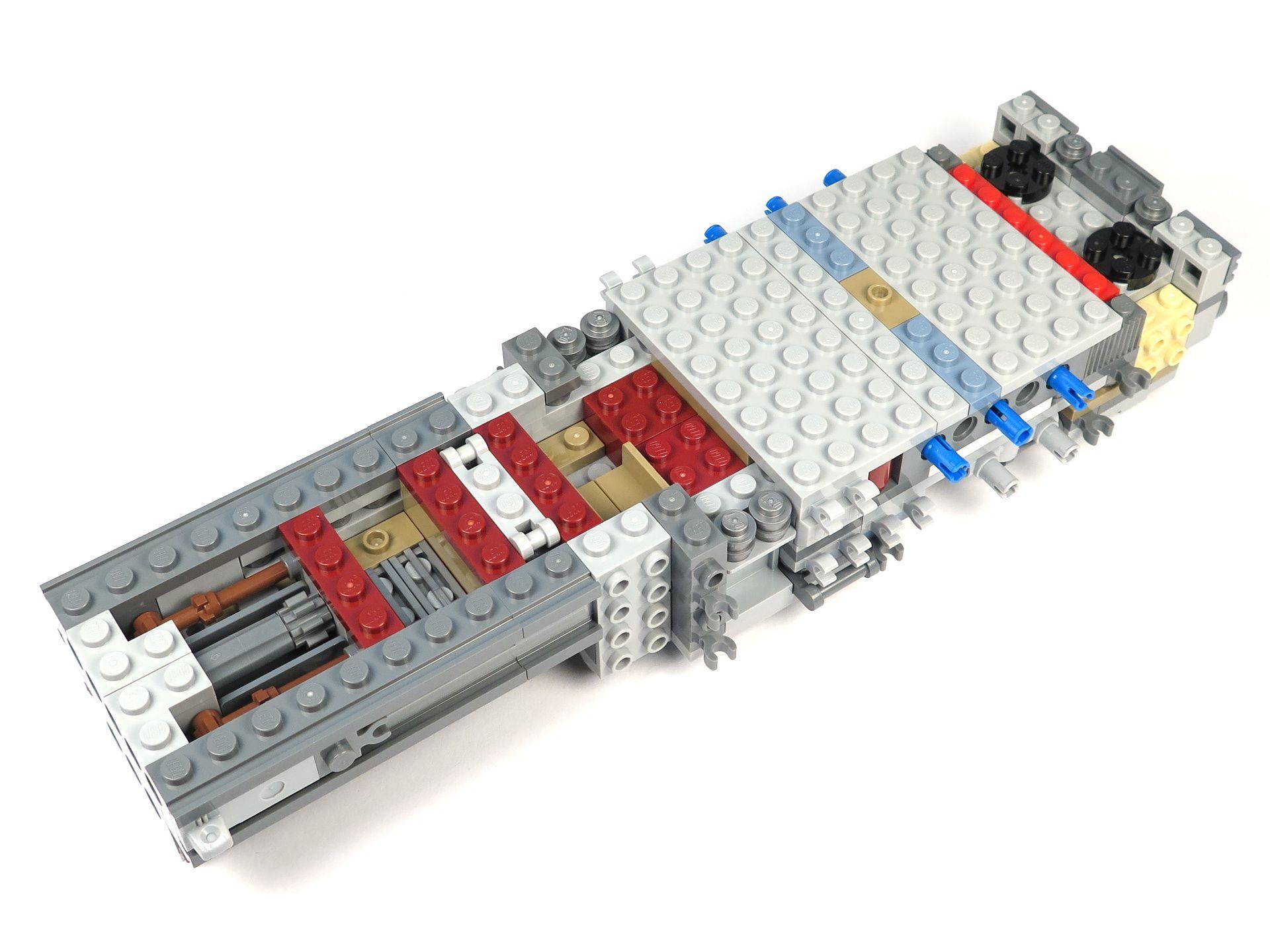 LEGO® Star Wars™ UCS Y-Wing Starfighter - Bauabschnitt 1 - Vorne | ©2018 Brickzeit