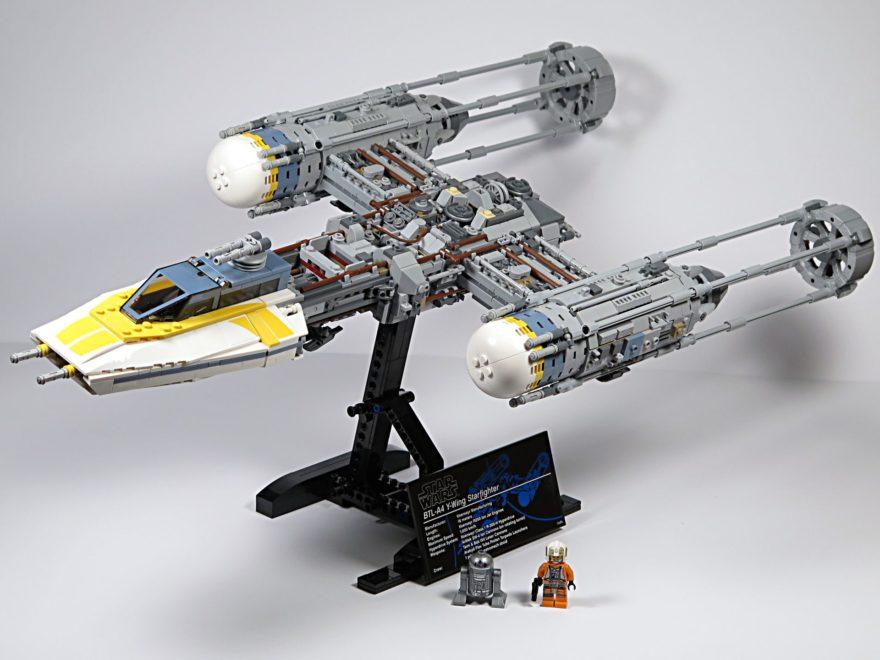 LEGO® Star Wars™ UCS Y-Wing Starfighter - Set | ©2018 Brickzeit