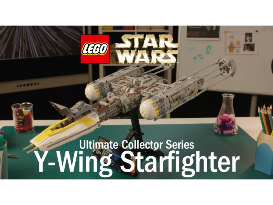 LEGO® Star Wars™ UCS Y-Wing Starfighter (75181) - Designer Video - Titelbild | ©LEGO Gruppe