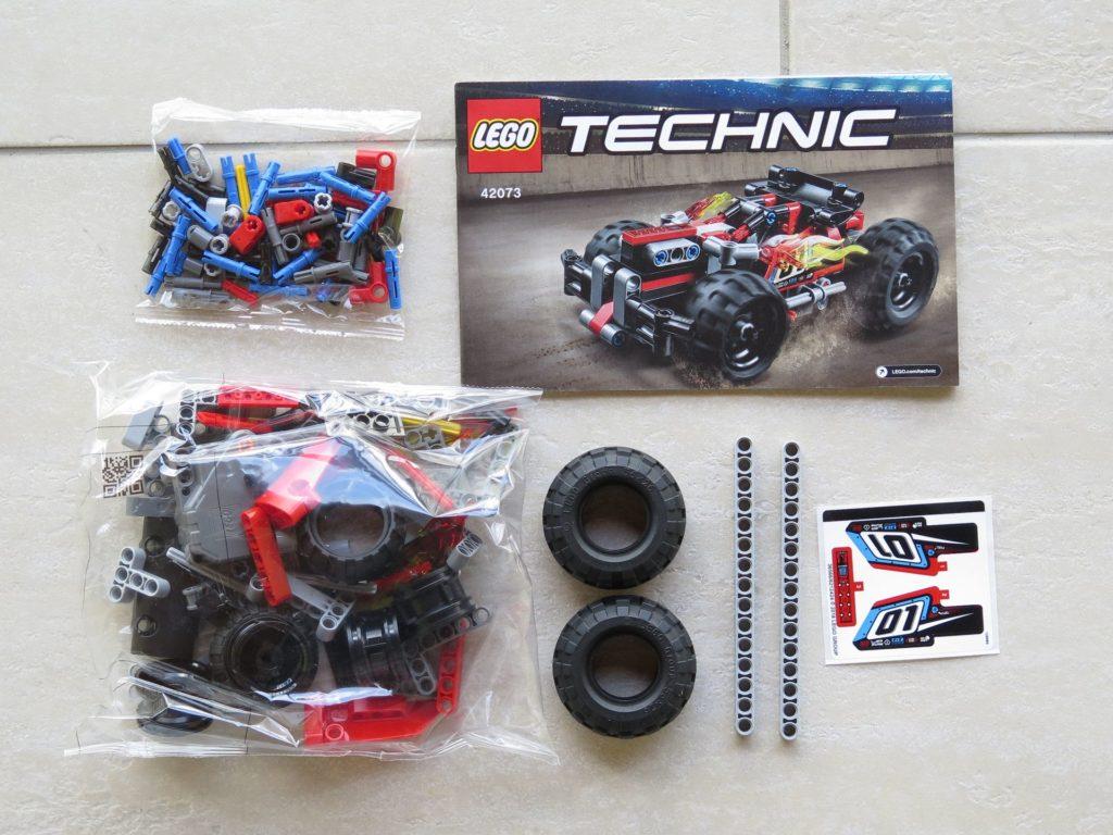 LEGO® Technic BUMMS! (42073) - Inhalt | ©2018 Brickzeit