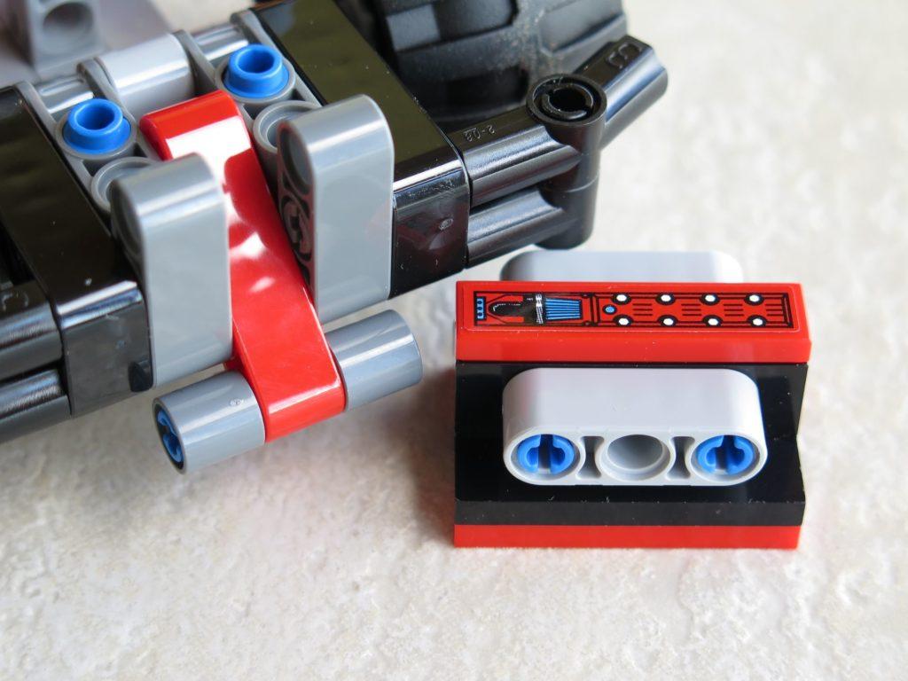 LEGO® Technic BUMMS! (42073) - Motorblock und Auslöser | ©2018 Brickzeit