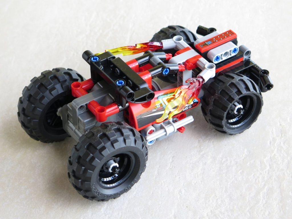 LEGO® Technic BUMMS! (42073) - rechts, hinten | ©2018 Brickzeit