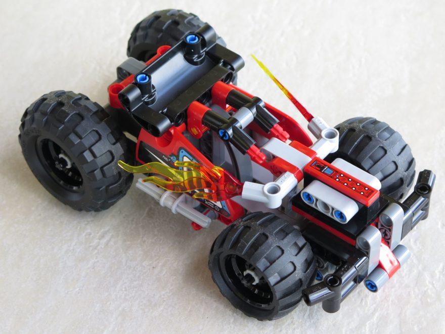 LEGO® Technic BUMMS! (42073) - rechts, vorne | ©2018 Brickzeit