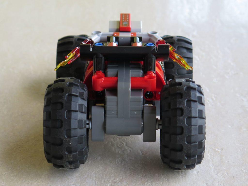LEGO® Technic BUMMS! (42073) - Rückseite | ©2018 Brickzeit