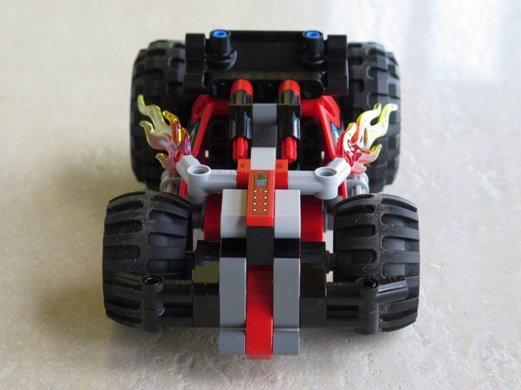 LEGO® Technic BUMMS! (42073) - Vorderseite | ©2018 Brickzeit