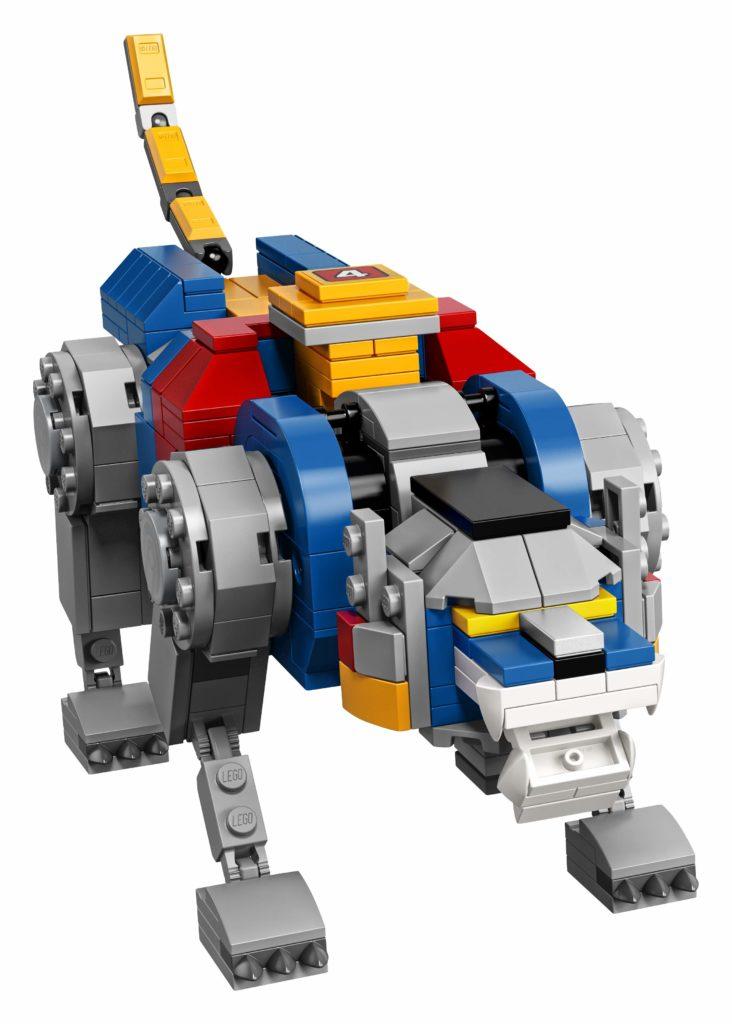 LEGO Ideas Voltron (21311) - Blauer Löwe | ®LEGO Gruppe