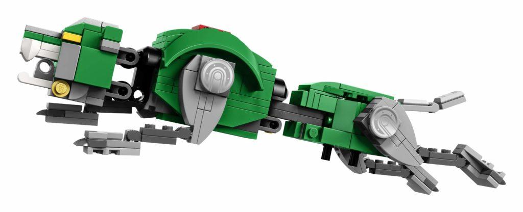 LEGO Ideas Voltron (21311) - Grüner Löwe im Sprung | ®LEGO Gruppe