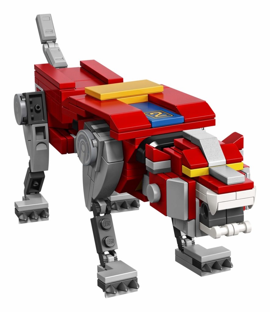 LEGO Ideas Voltron (21311) - Roter Löwe | ®LEGO Gruppe