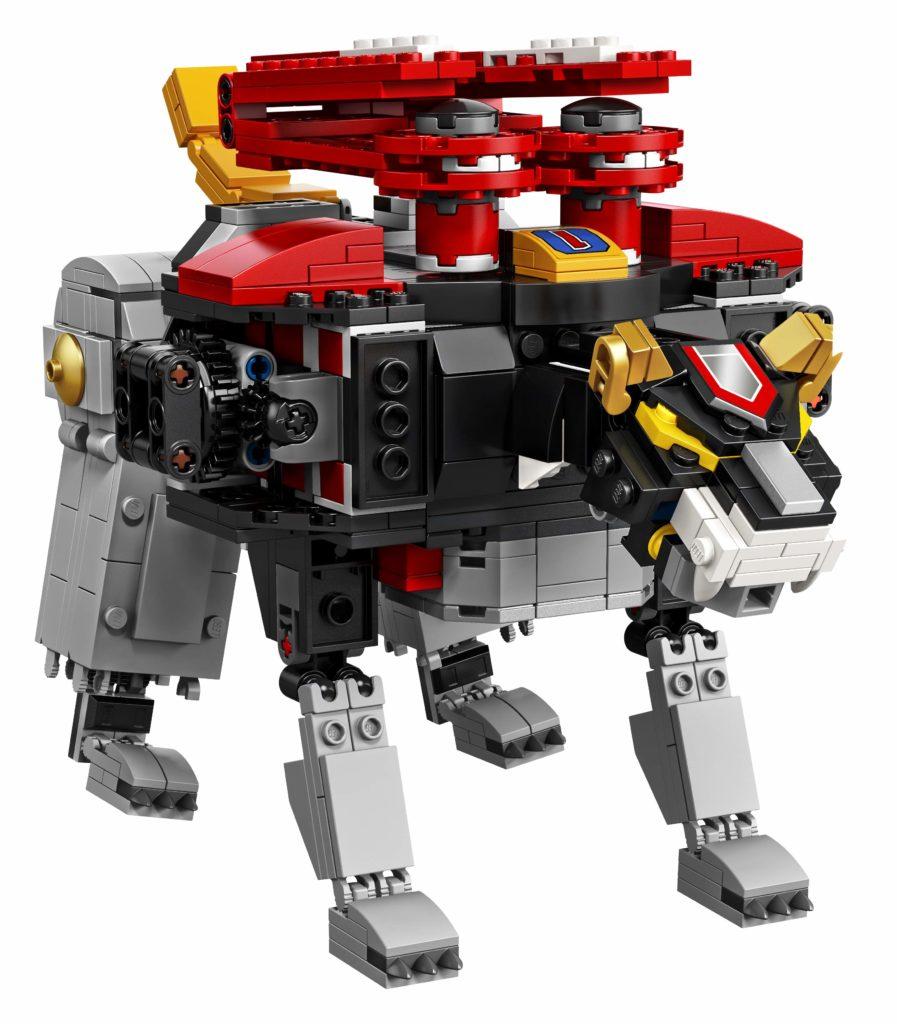 LEGO Ideas Voltron (21311) - Schwarzer Löwe | ®LEGO Gruppe
