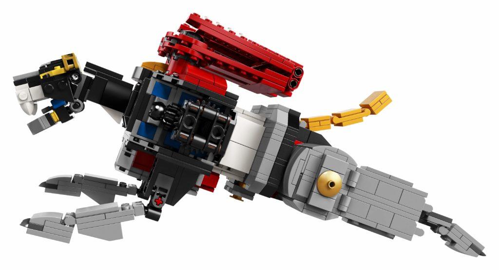 LEGO Ideas Voltron (21311) - Schwarzer Löwe im Sprung - Seitenansicht | ®LEGO Gruppe