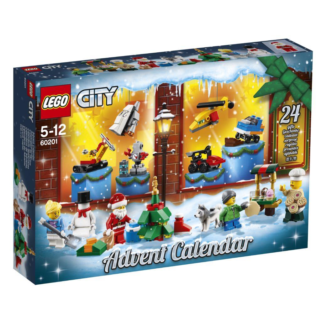 LEGO® City Adventskalender 2018 (60201) | ©LEGO Gruppe
