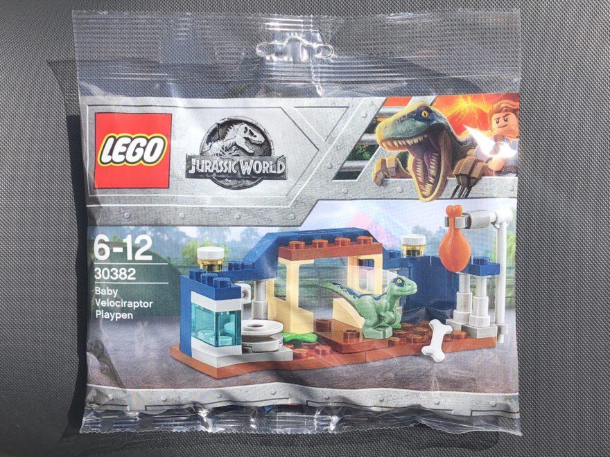 LEGO Jurassic World Baby Velociraptor Spielgehege Polybag (30382) | 2018 Brickzeit