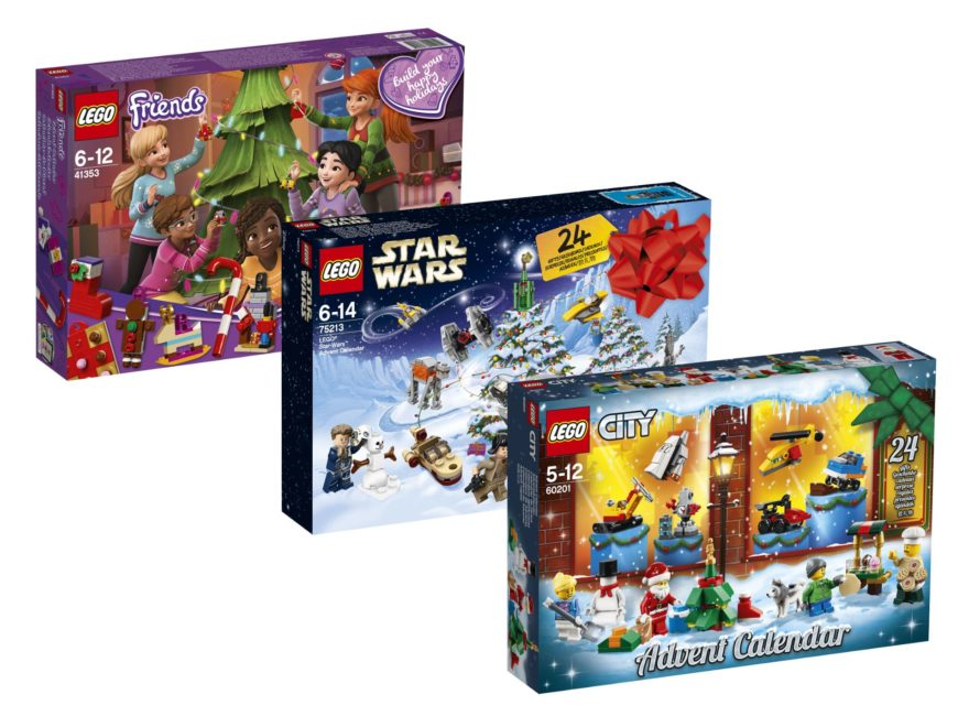 Weihnachtskalender Lego Friends.Lego Star Wars City Und Friends Adventskalender 2018 Offiziell