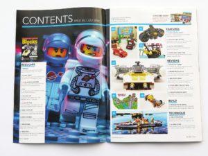 LEGO Blocks Magazine Ausgabe 45 - Inhalt