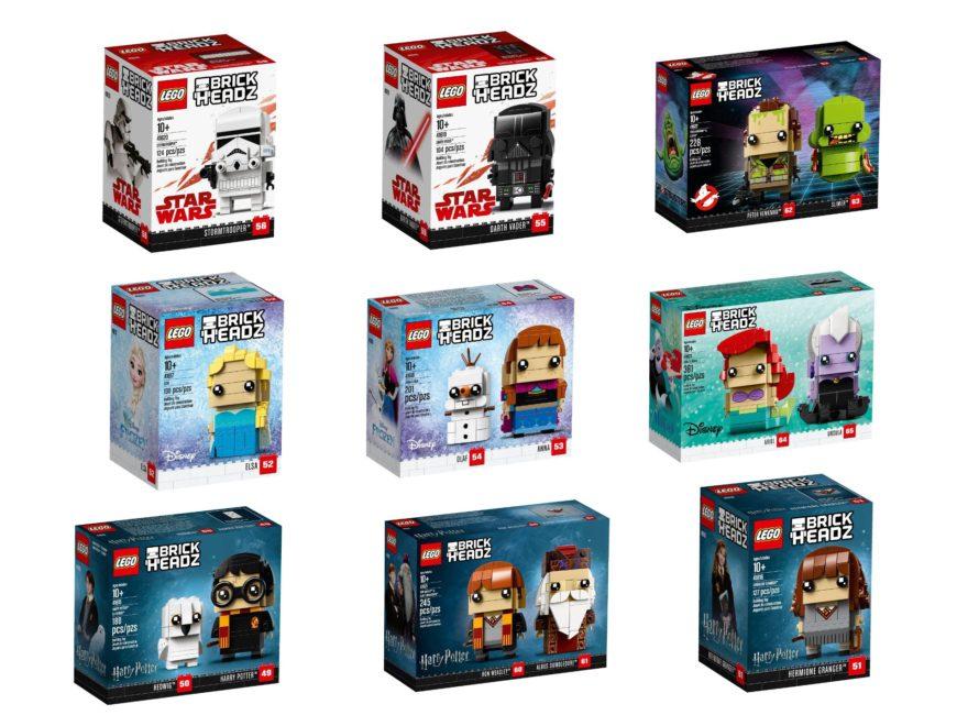 LEGO Brickheadz Neuheiten 1. Juli 2018 | ©LEGO Gruppe