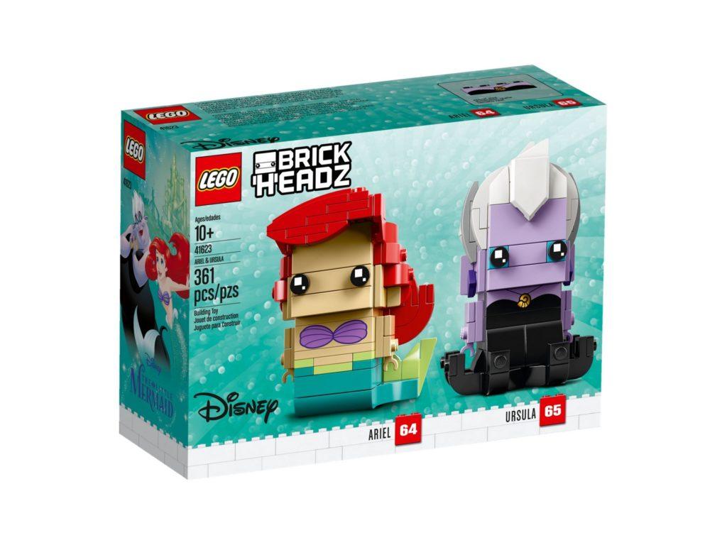 LEGO® Brickheadz Ariel die Meerjungfrau und Ursula (41623) - Bild 2 | ®LEGO Gruppe