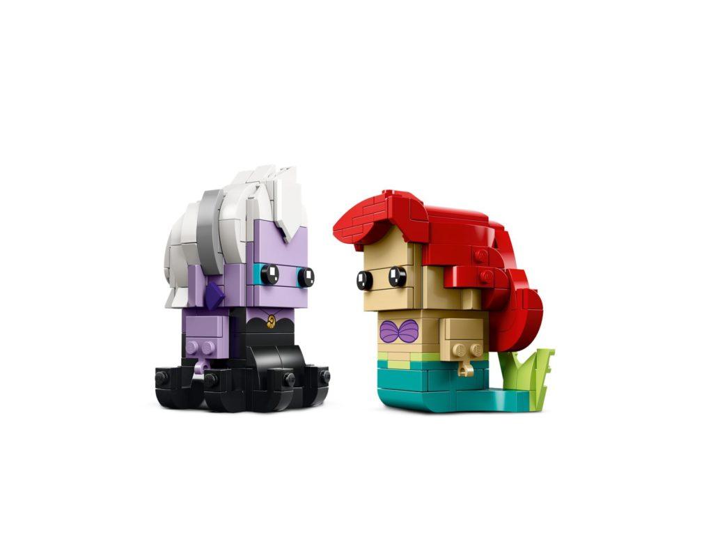 LEGO® Brickheadz Ariel die Meerjungfrau und Ursula (41623) - Bild 3 | ®LEGO Gruppe