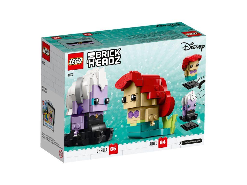 LEGO® Brickheadz Ariel die Meerjungfrau und Ursula (41623) - Bild 4 | ®LEGO Gruppe