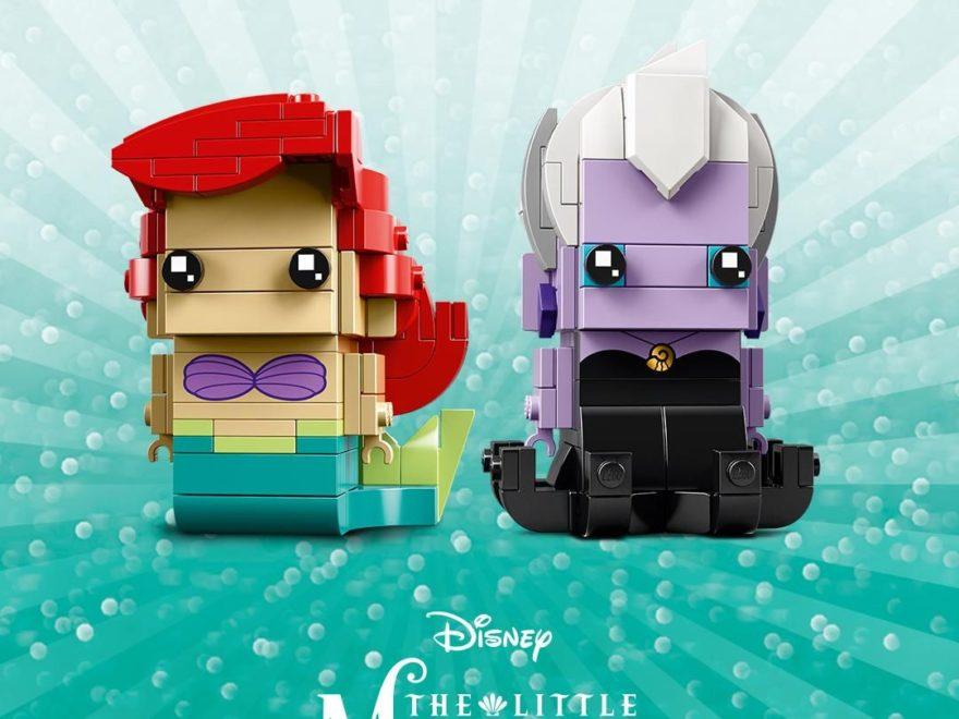 LEGO® Brickheadz Ariel die Meerjungfrau und Ursula (41623) - Bild 5 | ®LEGO Gruppe