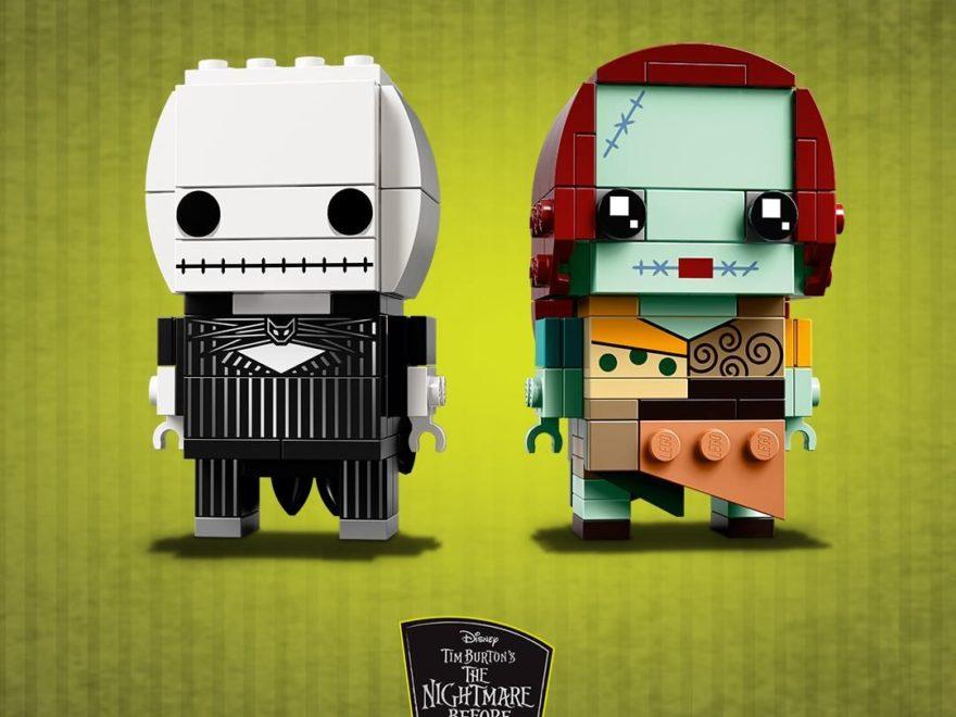 LEGO® Brickheadz™ Jack Skellington und Sally (41630) | ©LEGO Gruppe