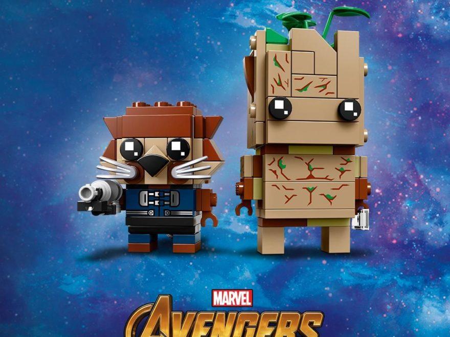 LEGO Brickheadz Rocket und Groot (41626) | ©LEGO Gruppe