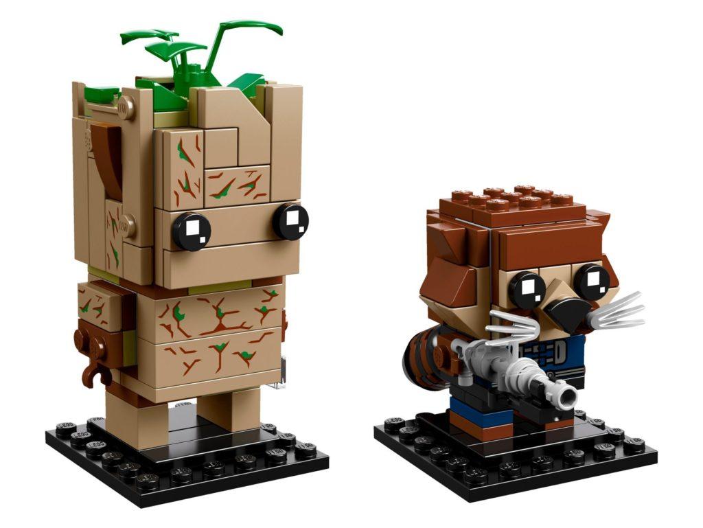 LEGO Brickheadz Rocket und Groot (41626) - Bild 1 | ©LEGO Gruppe