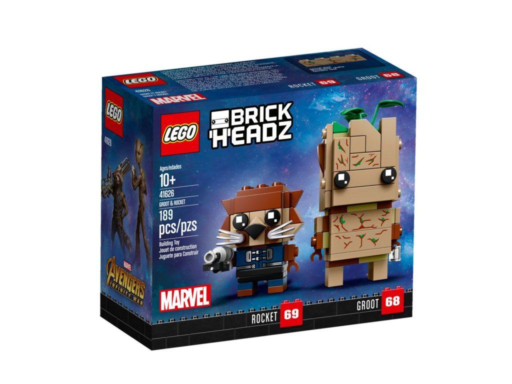 LEGO Brickheadz Rocket und Groot (41626) - Bild 2 | ©LEGO Gruppe