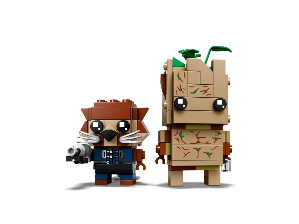 LEGO Brickheadz Rocket und Groot (41626) - Bild 3 | ©LEGO Gruppe