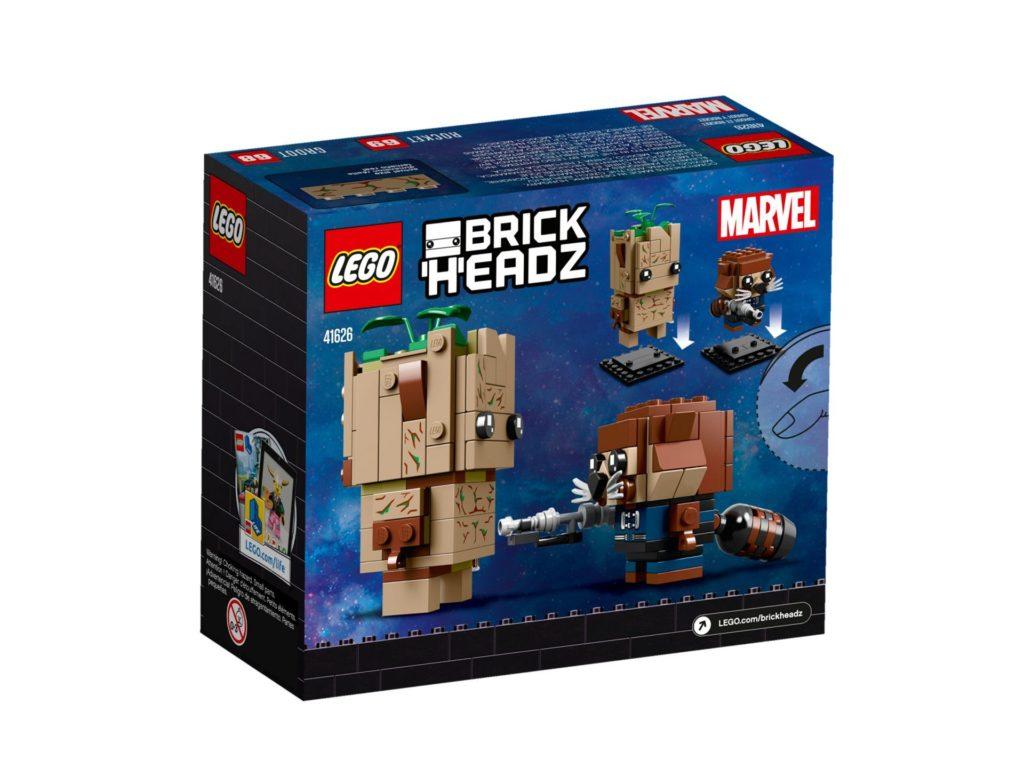 LEGO Brickheadz Rocket und Groot (41626) - Bild 4 | ©LEGO Gruppe