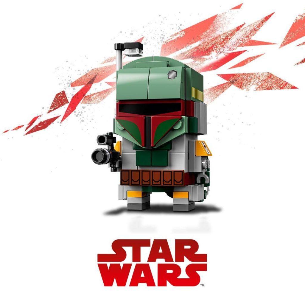 LEGO® Brickheadz™ Star Wars™ Boba Fett™ (41629) | ©2018 LEGO Gruppe
